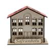 Safranbolu Evi Modelli Ahşap Kalemlik Önden Görünüm