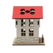 Safranbolu Evi Modelli Ahşap Kalemlik Yandan Görünüm